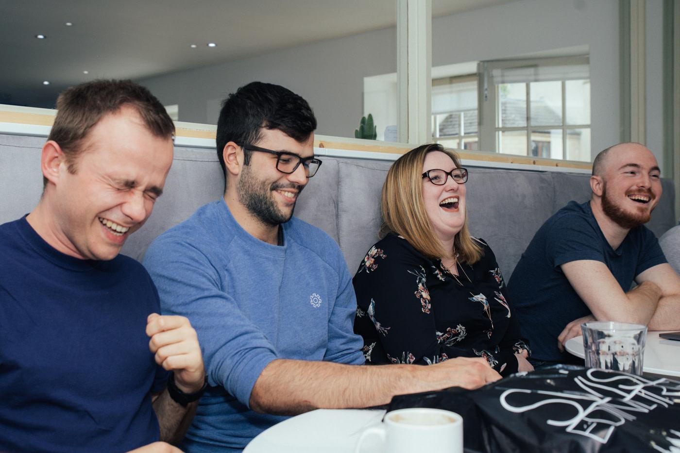 friendly software development team